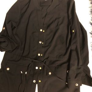 Calvin Klein Drawstring Waist Jacket